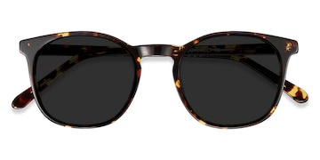 Dark Tortoise Safari -  Acetate Sunglasses