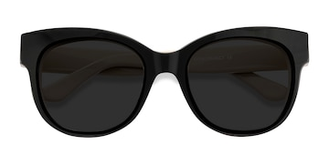 Black Tahiti -  Vintage Acetate Sunglasses