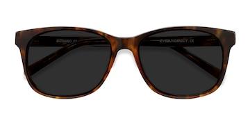 Tortoise Borneo -  Vintage Acetate Sunglasses