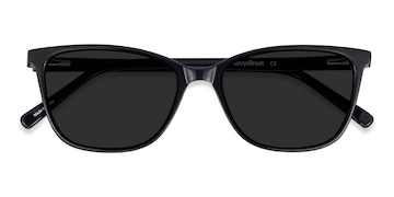 Black Halle -  Vintage Acetate Sunglasses