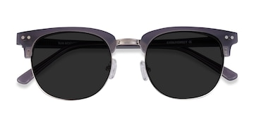Gray Sun Borderline -  Acetate Sunglasses