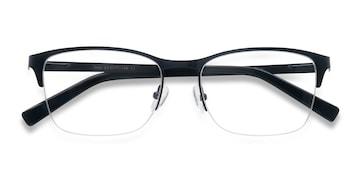 Navy Time -  Metal Eyeglasses