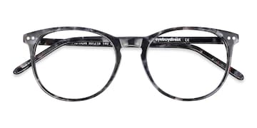 Gray/Floral Fiction -  Fashion Acetate Eyeglasses