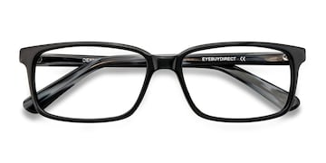 Black/Gray Denny -  Acetate Eyeglasses