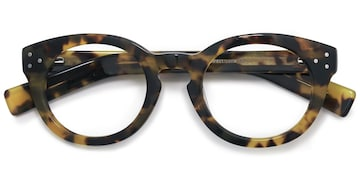 Tortoise Morla -  Fashion Acetate Eyeglasses