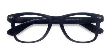Matte navy Atlee -  Geek Plastic Eyeglasses