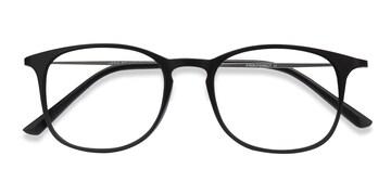 Matte Black Little Bit -  Plastic Eyeglasses