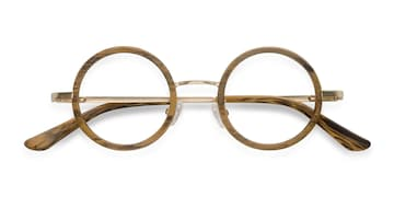 Brown Roaring -  Designer Acetate Eyeglasses