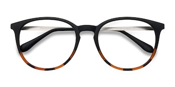 Black Tortoise Gracious -  Metal Eyeglasses