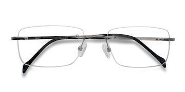 Silver Lupin -  Designer Titanium Eyeglasses