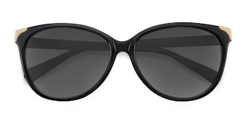 Black Lima -  Vintage Acetate Sunglasses