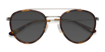 Tortoise Brookline -  Vintage Acetate Sunglasses