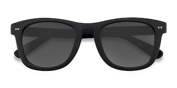 Matte Black Nevada -  Acetate Sunglasses