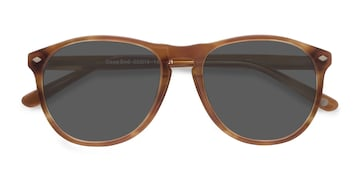 Tortoise  Deep End -  Vintage Acetate Sunglasses