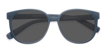 Matte Green Dundee -  Plastic Sunglasses