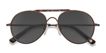 Brown Nairobi -  Vintage Acetate Sunglasses