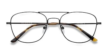 Black Captain -  Classic Metal Eyeglasses