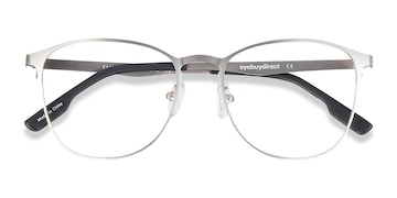 Silver Ember -  Classic Metal Eyeglasses