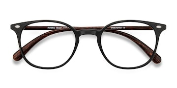 Matte Black Hubris -  Plastic Eyeglasses