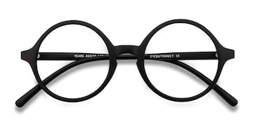 Black Years -  Vintage Plastic Eyeglasses