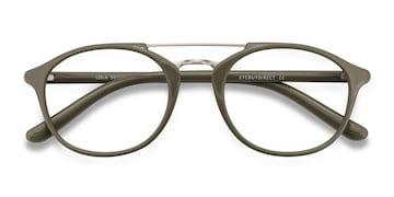 Olive Lola -  Vintage Metal Eyeglasses