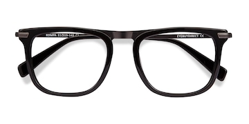 Black Kompa -  Acetate Eyeglasses