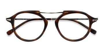 Tortoise Bronze Terminal One -  Acetate Eyeglasses