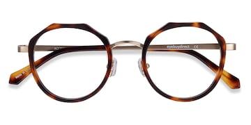 Tortoise Accent -  Acetate Eyeglasses