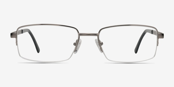Axis Gunmetal Metal Eyeglass Frames