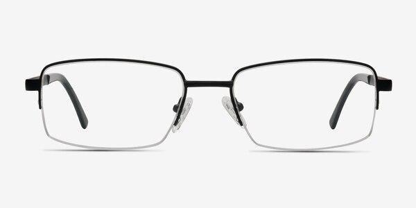 Axis Black Metal Eyeglass Frames