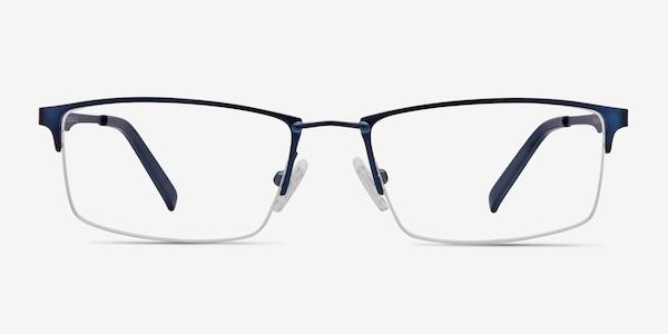 Furox Navy Metal Eyeglass Frames