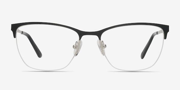 Lille Black Metal Eyeglass Frames