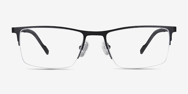Variable Black Metal Eyeglass Frames