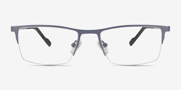 Variable Gray Metal Eyeglass Frames