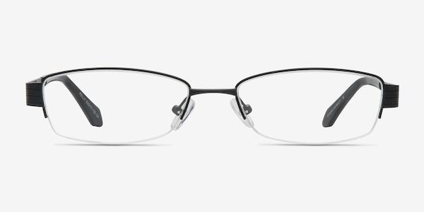 Kelly Black Metal Eyeglass Frames