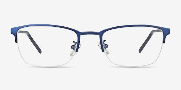 Argil Matte Navy Metal Eyeglass Frames