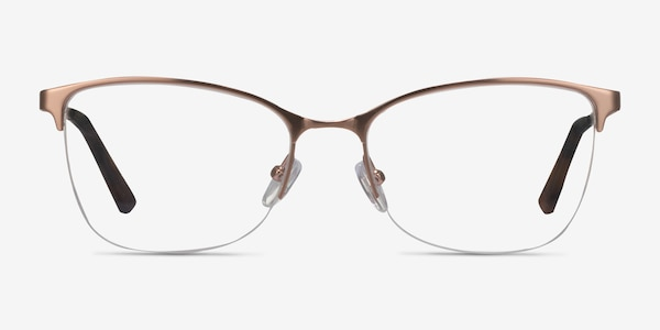 Kira Rose Gold Metal Eyeglass Frames