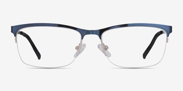 Rally Navy Metal Eyeglass Frames