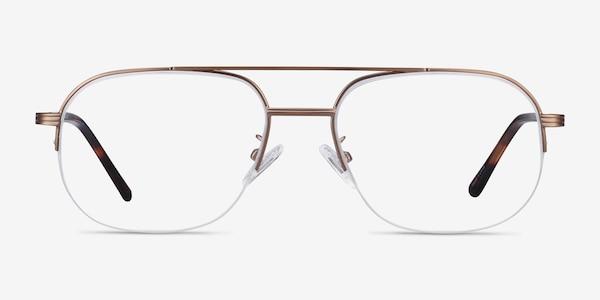 Carlson Bronze Acetate-metal Eyeglass Frames