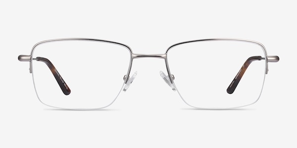 Dominic Gunmetal Metal Eyeglass Frames