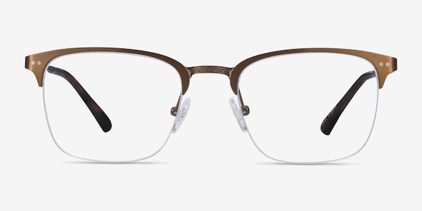 Quinton Bronze Metal Eyeglass Frames