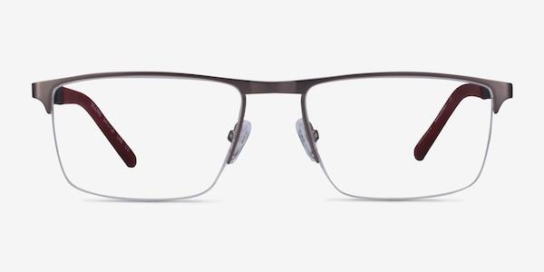 Belong Silver Carbon-fiber Eyeglass Frames