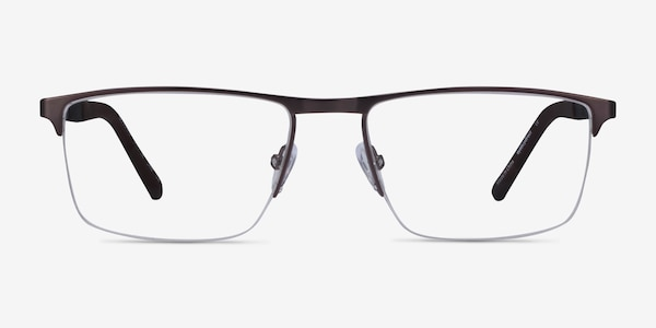 Belong Gunmetal Carbon-fiber Eyeglass Frames