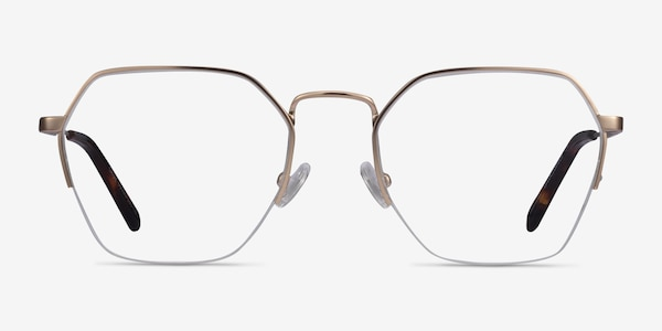 Cruz Rose Gold Metal Eyeglass Frames