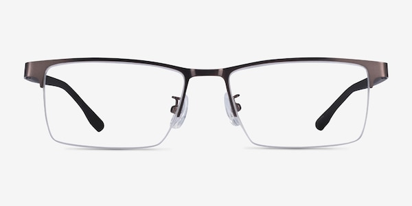 Ceylan Coffee Black Metal Eyeglass Frames