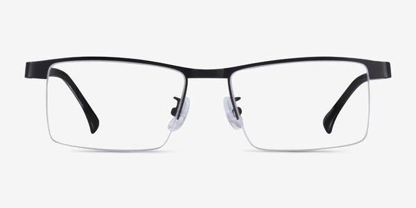 Zac Black Gold Metal Eyeglass Frames