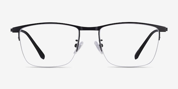 Shawn Matte Black Metal Eyeglass Frames