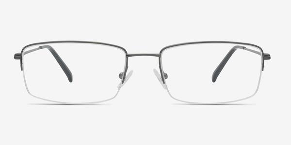 Kanick Gunmetal Titanium Eyeglass Frames