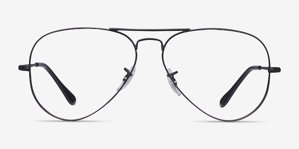 Ray-Ban RB6489 Black Metal Eyeglass Frames