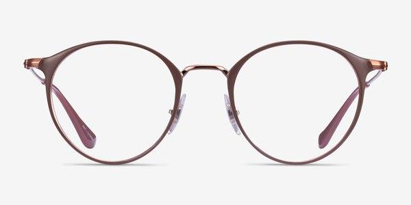Ray-Ban RB6378 Light Brown Metal Eyeglass Frames